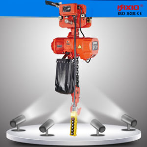Kixio 3 Ton Electric Chain Hoist with Electric Trolley pictures & photos