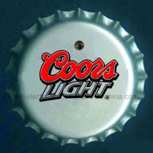 Beer Bottle Cap LED Badge (3569) pictures & photos
