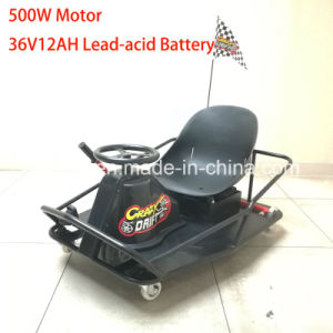 Adult 36V Battery Electric Tricycle Pedal Crazy Kart XL pictures & photos
