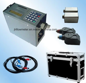 Portable Gas/Air/Liquid/Fluid Ultrasonic Flowmeter (ISO9001) pictures & photos