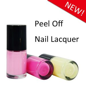 Water Based Peel off Nail Polish in Glass Bottle pictures & photos