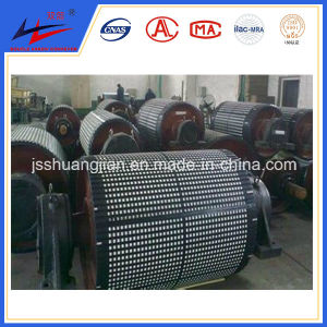 Double Arrow Ceramic and Rubber Lagging Pulleys pictures & photos