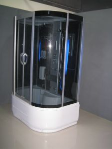 Black Tempered Glass Shower Room (ADL-8309A) pictures & photos