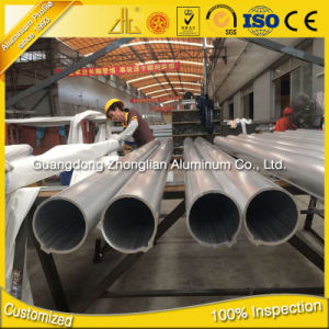 Aluminum Extrusion Profile Manufacturer Aluminium Round Pipe pictures & photos