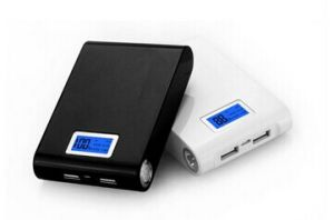 8000-11200mAh High Capacity Flashlight Power Bank
