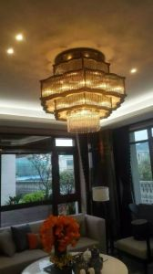 Welcomed New Design House Decoration Chandelier (KAG0006) pictures & photos