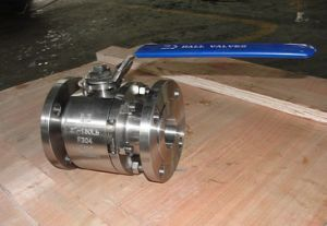 Forged Steel F304 Class 300 Stainless Steel Ball Valve