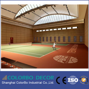 Gymnasium Decoration Sound Proof Material Groove Wooden Acoustic Wallpapers pictures & photos