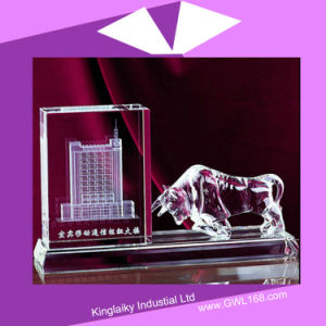 Customized Model Crystal Building Completion Souvenir pictures & photos