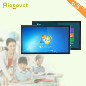 "Riotouch IR 10 Points Touch Screen Monitor 55"", 65"", 75"", 86"" High Resolution Modular Design Wall-Mounted All in One PC"