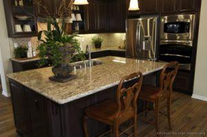 Dark Espresso Kitchen Cabinets (DE25) pictures & photos