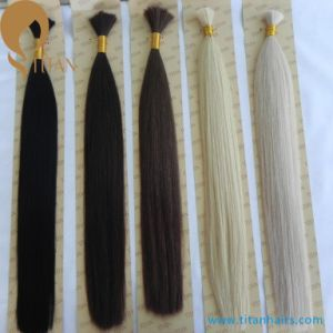 Correct Cuticle Natural Indian Virgin Remy Human Hair Bulk pictures & photos