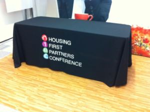 8 Feet Fabric Trade Show Display Table Cover pictures & photos