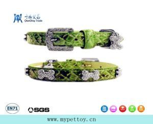 High Quality Camouflage Dog Leather Collar pictures & photos