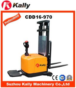 Triple Mast Lifting Height Counterbalance Electric Stacker (CDD16-970)