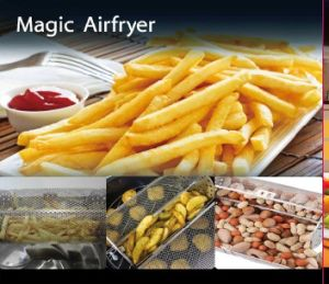 360 Degree Automatic Rotary Multi-Air Fryer
