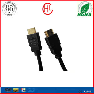Gold Plated 1080P HDMI to HDMI Cable with Factory Price pictures & photos