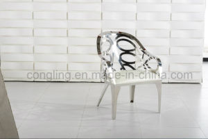 New Design Two Seater Stainless Steel Leisure Chair pictures & photos