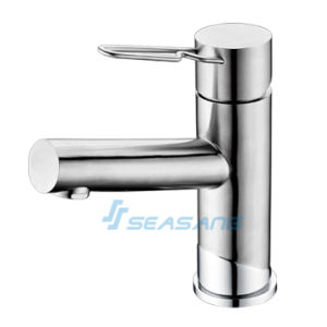 Mirror Polished Shiny Bathroom Basin Sink Faucet Wash Hand Mixer pictures & photos