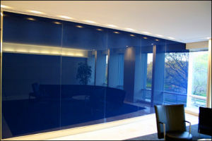 Tempered Painted Glass Wall with AS/NZS2208: 1996, BS6206, En12150 Certificate pictures & photos