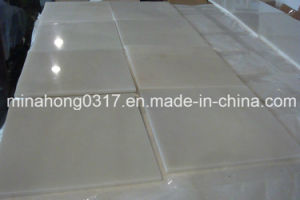 Pure White Marble Slabs/Tiles, /Composite Tile/Vanity Tops/Countertop pictures & photos