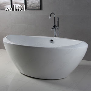 Cupc Approved Boat Shape Freestanding Bathtub pictures & photos