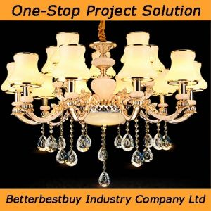 Shinning and Beautiful Ceiling Lamp with 15/8/6 Bulbs pictures & photos