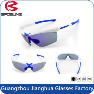 Mens Women Hot Popular Cycling Sunglasses Wholesale Anti-Slip Waterproof Revo Lenses Sport Eyewear pictures & photos