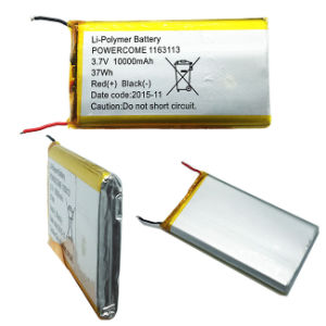 1163113 3.7V 37wh Battery Lithium Polymer Battery 10000mAh Battery for Tablet pictures & photos