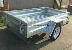 Single Axle Tandem Box Trailer pictures & photos