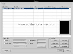 High Qualified Large Screen with Ce Approved Ultrasound Scanner System pictures & photos