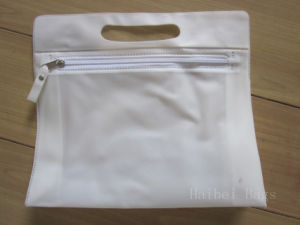 Transparet PVC Tote Wine Bag with Pipe Handles (hbpv-63) pictures & photos