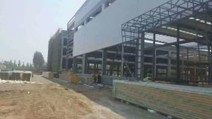 Light Steel Construction Prefabricated Workshop/Long Span Steel Structure Warehouse/Go Down pictures & photos