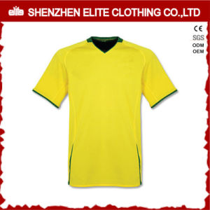 Cheap Team Yellow Soccer Jersey for Kids (ELTYSJ-100) pictures & photos