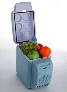 Electronic Mini Fridge 7liter DC12V, AC100-240V with Cooling and Warming for Car, Boat, Office or Home Use pictures & photos