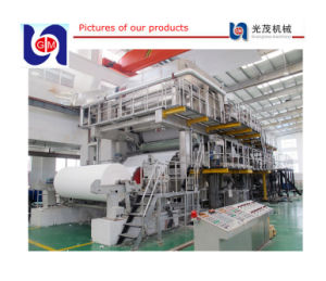 New Design Advanced 1575mm Type A4 Printing Paper Machine pictures & photos