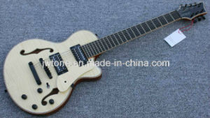 Double Bound F Hole Hollow Body Electric Guitar pictures & photos