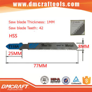 T118A HSS Jigsaw Blades for Metal pictures & photos