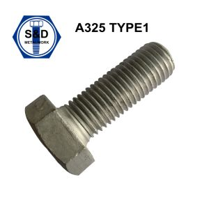 A325/A490 Type1 Heavy Hex Bolts Hot Dipped Galv pictures & photos