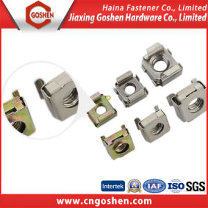 Stainless Steel Color Zinc Plated Square Cage Nuts pictures & photos