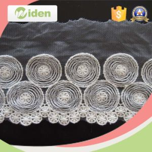 Lace Factory in China Fashion Styles Organza Nigerian Lace pictures & photos