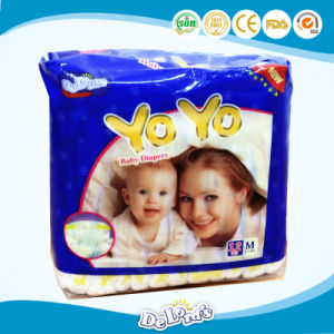 OEM Breathable Disposable Baby Diaper pictures & photos