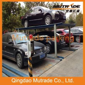 2-3 Floors Motor Drive Underground Four Post Mechanical Parking System pictures & photos