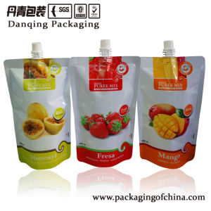 Stand up Pouches with Spout Beverage Packaging pictures & photos