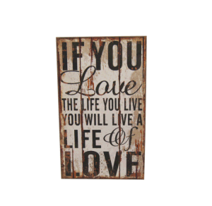 40*80cm Custom Design Letter Wall Wood Plaque Signs pictures & photos