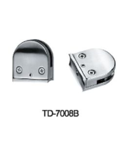 High Quality Zinc Alloy Glass Clamp (TD-7008B) pictures & photos