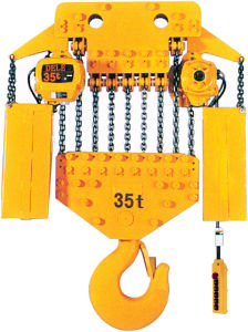 10t Trolley Type Chain Hoist Electrical pictures & photos