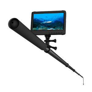 Handheld 5 Meter Telescopic Pole IP68 Underwater Inspection Camera System for Aquaculture pictures & photos