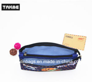 Cartoon Printing Triple-Layer Pencil Bag for Child pictures & photos