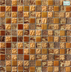 Mixed Color Natural Stone Marble Mosaic for Background Wall Tile pictures & photos